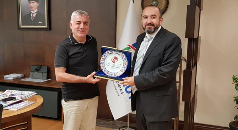 MMG'den Emlak Konut Yönetim Kurulu Başkanı Ertan Keleş'e ziyaret