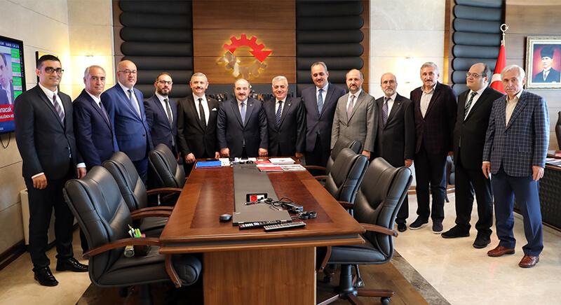 MMG'den Sanayi ve Teknoloji Bakanı Mustafa Varank'a ziyaret